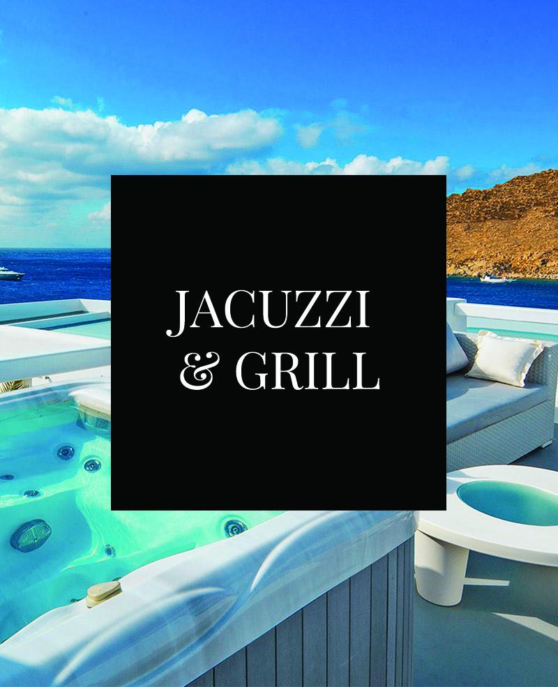 Jacuzzi und Grill