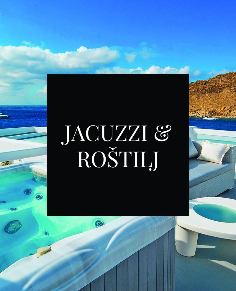 Jacuzzi & Roštilj
